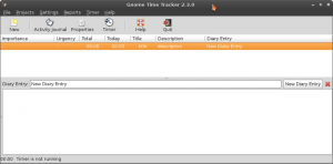 Timetracker для Linux, Управление проектами в Linux