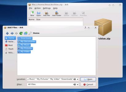 Архиватор в Linux