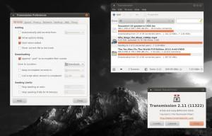 Внешний вид торрент клиента в Ubuntu