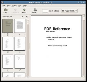 xpdf - работа с pdf файлами в ubuntu